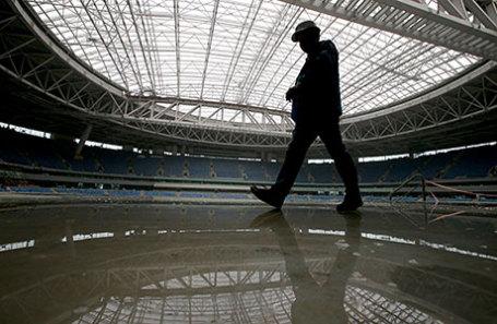 На стадионе «Зенит-Арена».