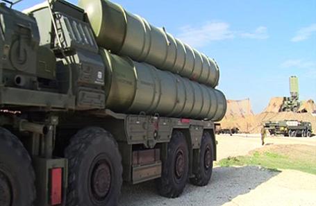 Зенитный ракетный комплекс С-400.