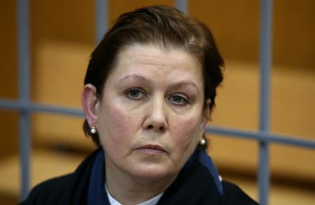 Директор Библиотеки украинской литературы Наталья Шарина, обвиняемая в экстремизме и растрате