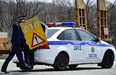 В РФ ГИБДД небудет приезжать наДТП без пострадавших