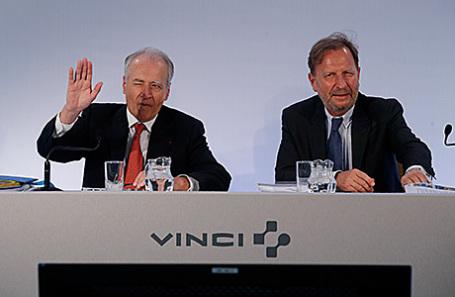 Кристиан Лабери (справа).