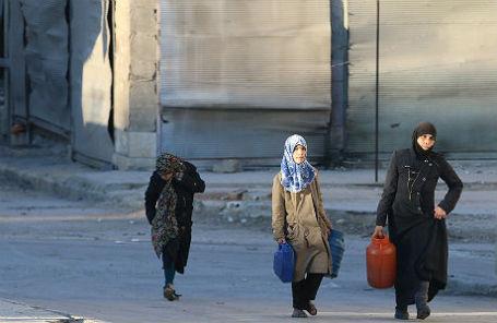 В пригороде Алеппо.
