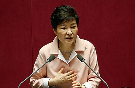 Президент Кореи Пак Кын Хе.