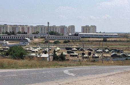 Российская военная база в Севастополе.