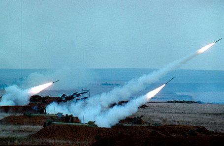 На государственном полигоне ВВС Украины вблизи мыса Чауда в Крыму прошли учения сил ПВО Украины.