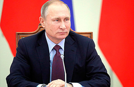 Президент России Владимир Путин на совместном заседании Совета по культуре и искусству и Совета по русскому языку, 2 декабря 2016.