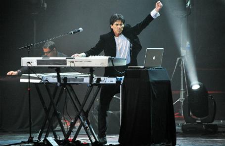Лидер группы «Space» Дидье Маруани.