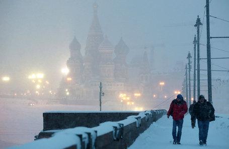 В столице России объявлено штормовое предупреждение из-за метели