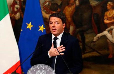 Премьер-министр Италии Маттео Ренци.
