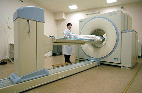 Современный позитронно-эмиссионный и компьютерный томограф.