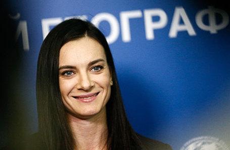 Двукратная олимпийская чемпионка по прыжкам с шестом, член Международного олимпийского комитета Елена Исинбаева.