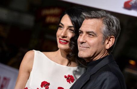 Джордж и его Амаль Клуни.