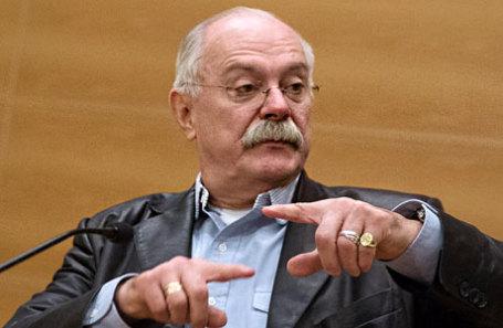 Председатель Союза кинематографистов России, режиссер Никита Михалков.