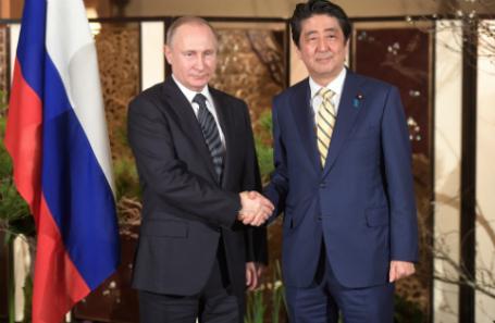 Путин раскрыл детали переговоров сСиндзо Абэ