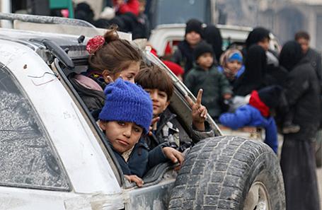 Эвакуация из Алеппо.