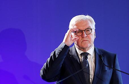 Глава МИД Германии Франк-Вальтер Штайнмайер.