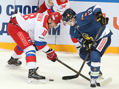 Хоккейный турнир «Кубок Первого канала»: Россия – Финляндия - 4:3.