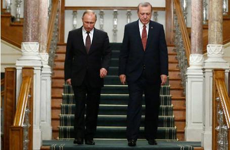 Владимир Путин и Реджеп Эрдоган.