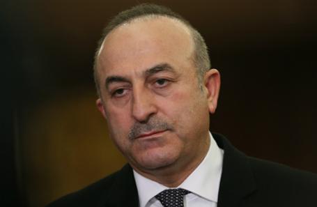 Брифинг министра иностранных дел Турции Мевлюта Чавушоглу, прибывшего в Москву.