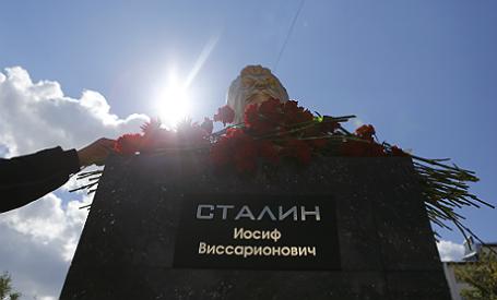 Вселе Куйбышево Ростовской области открыли монумент Сталину