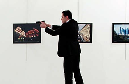 Мевлют Мерт Алтынташ, убивший Андрея Карлова в Анкаре.