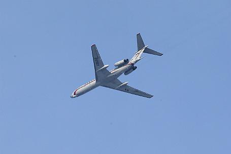 Русский военный самолет Ту-154, летевший вСирию, упал вЧерное море
