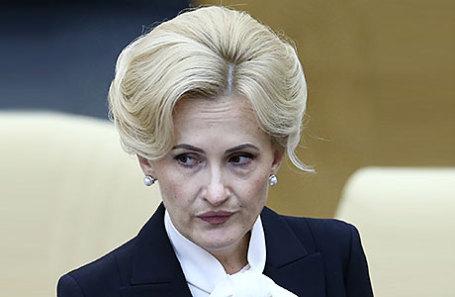 Депутат Госдумы РФ Ирина Яровая.