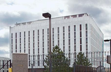 Посольство РФ в Вашингтоне, США