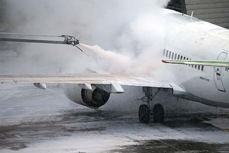 Работа аэропорта Внуково.