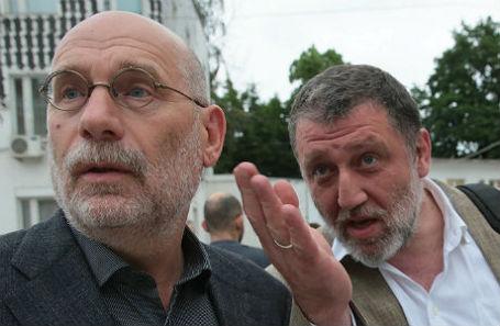 Борис Акунин и Сергей Пархоменко.