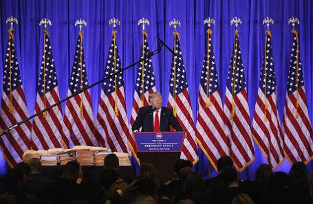 Пресс-конференция Дональда Трампа.