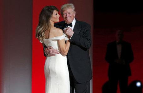 Дональд Трамп и Мелания Трамп.