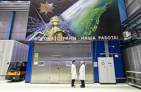Испытательный комплекс на базе Северо-западного регионального центра концерна ВКО «Алмаз-Антей».