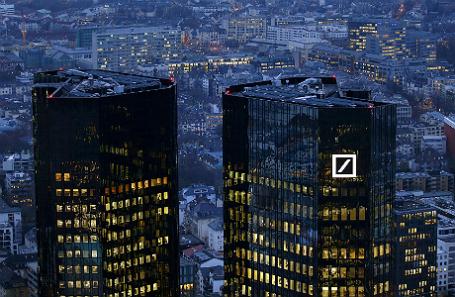 Главное управление Deutsche Bank во Франкфурте.