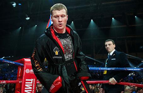 Российский боксер Александр Поветкин.