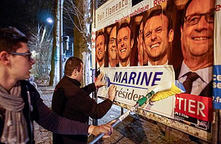 Опрос: ЛеПен победит впервом туре президентских выборов воФранции