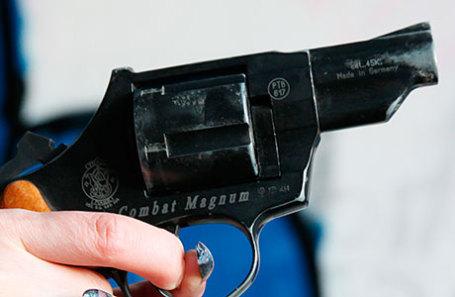 Газовый пистолет.