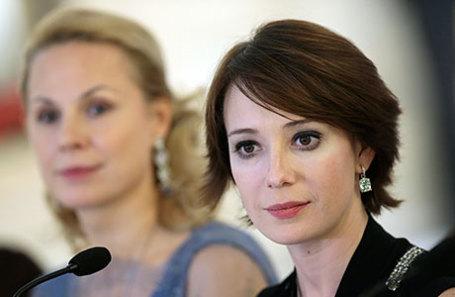 Учредители фонда «Подари жизнь» Дина Корзун и Чулпан Хаматова (слева направо).