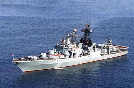 Большой противолодочный корабль Северного флота «Североморск».