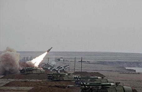 Учения сил ПВО Украины.