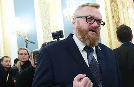 Член комитета Госдумы РФ по международным делам Виталий Милонов.