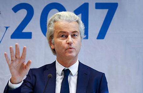 Лидер партии Свободы Герт Вилдерс.