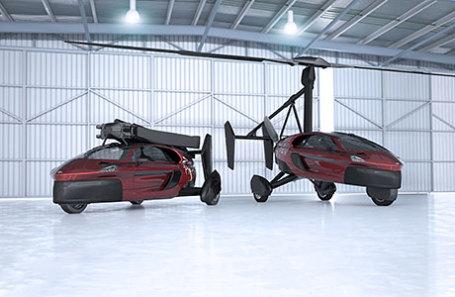 Модель автомобиля PAL-V Liberty.