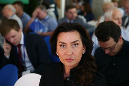 Журналист Ксения Соколова.