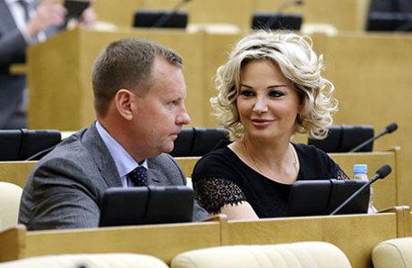 Денис Вороненков и Мария Максакова.