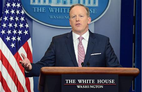 Пресс-секретарь Белого дома Шон Спайсер.