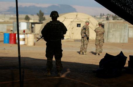 Американские солдаты в Ираке.