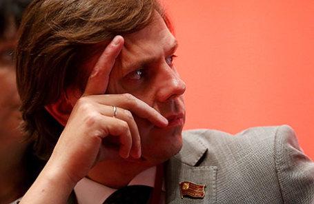 Руководитель фракции КПРФ в Мосгордуме Андрей Клычков.