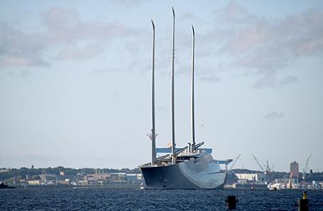 Яхта Андрея Мельниченко Sailing Yacht A.