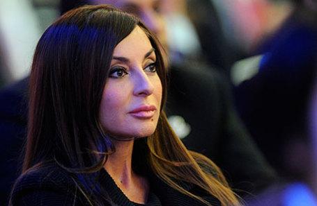 Супруга президента Азербайджана Мехрибан Алиева.